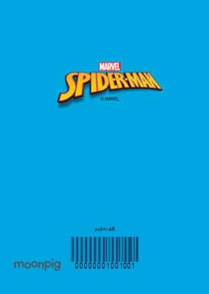 Greeting Cards - Marvel Spiderman Awesome Time Personalised Christmas Card - Image 4