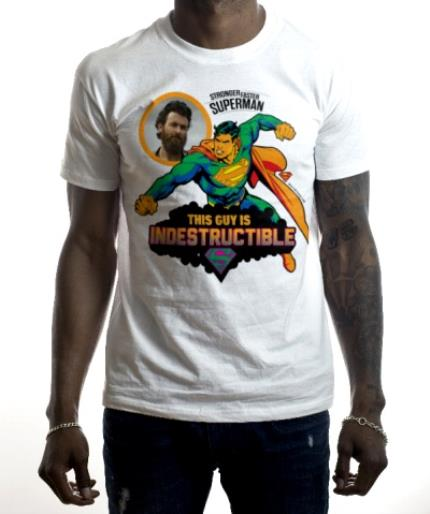 T-Shirts - DC Comics Superman Indestructible Man T-Shirt - Image 2