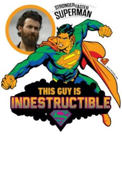 T-Shirts - DC Comics Superman Indestructible Man T-Shirt - Image 4