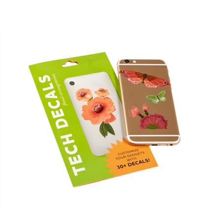 Stationery & Craft - Floral Tech Decals - Image 1