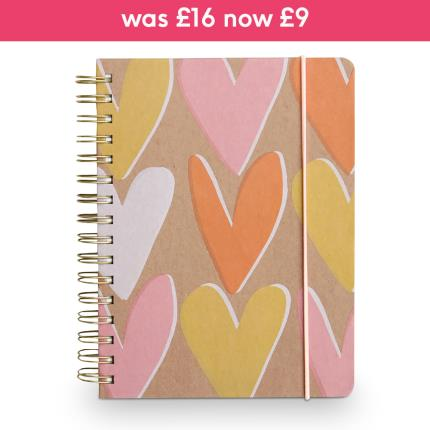 Stationery & Craft - Caroline Gardner Layered Hearts Ultimate Organiser & Planner - Image 1