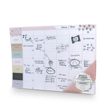 Stationery & Craft - We Live Like This Weekly Planner - Image 1