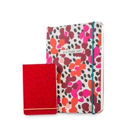 Stationery & Craft - Caroline Gardner Paint The Town Red Notebook Set - Image 2