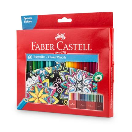 Stationery & Craft - Faber Castell 60 Colour PencilsSpecial Edition - Image 1