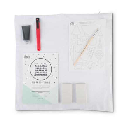 Stationery & Craft - DIY Kit Pillow Cover - Image 3