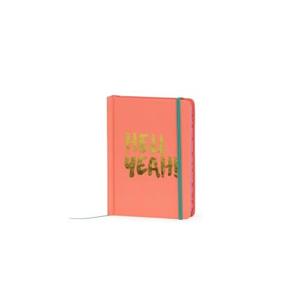Stationery & Craft - A6 Hell Yeah Peach Notebook - Image 2