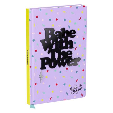 Stationery & Craft - Tatty Devine Babe With The Power Notebook - Image 1