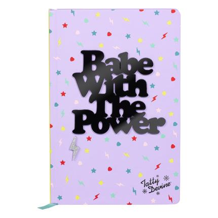 Stationery & Craft - Tatty Devine Babe With The Power Notebook - Image 2