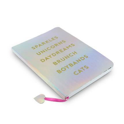 Stationery & Craft - Studio Note Girl Gang Holographic Notebook - Image 1