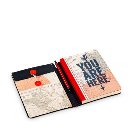 Stationery & Craft - Cartography Travel Journal & Pen WAS £15 NOW £10 - Image 1