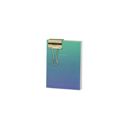 Stationery & Craft - Set Of 3 Notebooks with Paperclamp - Image 6