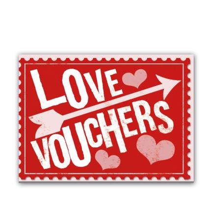 Stationery & Craft - Love Vouchers Book - Image 1