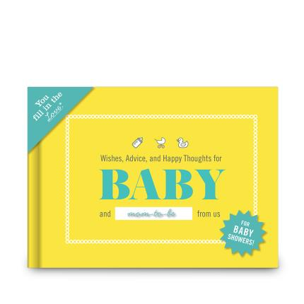 Stationery & Craft - Wishes, Advice and Happy Thoughts for the Baby - Image 1