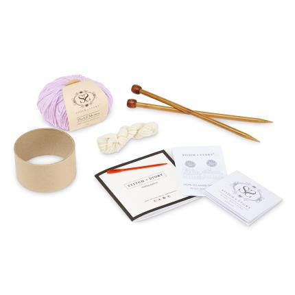 Toys & Games - Personalised Pink Hat Knit Kit - Image 2