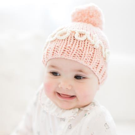 Toys & Games - Personalised Pink Hat Knit Kit - Image 4
