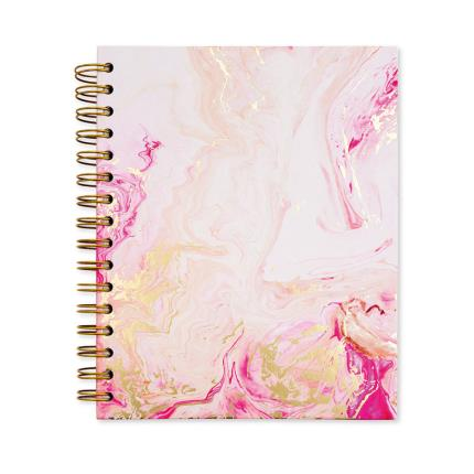Stationery & Craft - Rose Quartz A5 Planner Notebook - Image 1
