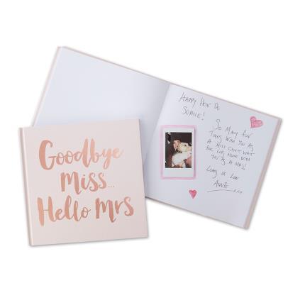 Stationery & Craft - Ginger Ray Miss to Mrs Keepsake Book - Image 2