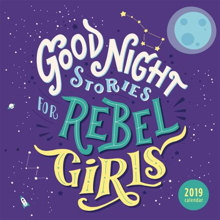 Stationery & Craft - Good Night Stories for Rebel Girls 2019 Wall Calendar - Image 1