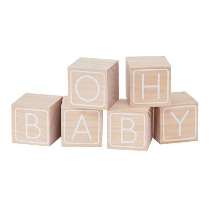 Toys & Games - Baby Blocks Guest Book Baby Shower Gift - Image 2