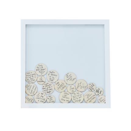Stationery & Craft - Drop Top Frame Guest Book - Image 2