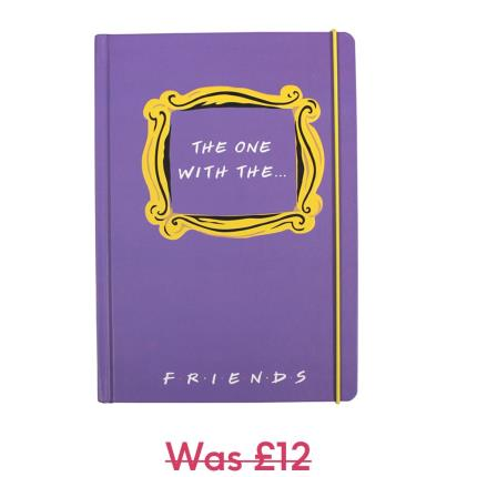 Stationery & Craft - Friends A5 Notebook - Image 1