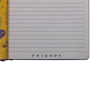 Stationery & Craft - Friends A5 Notebook - Image 4