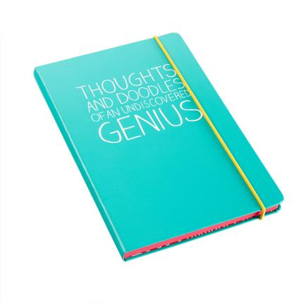 Stationery & Craft - Happy Jackson Thoughts of a Genius Notebook - Image 1