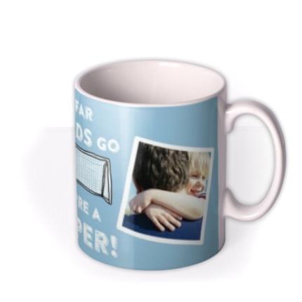 Mugs - Father's Day Keeper Photo Upload Mug - Image 2