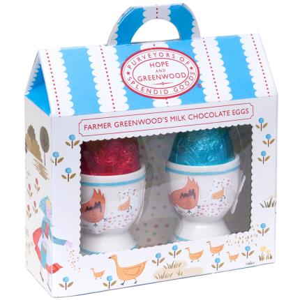 Food Gifts - Milk Chocolate Eggs & Egg cups - NEW! - Image 1