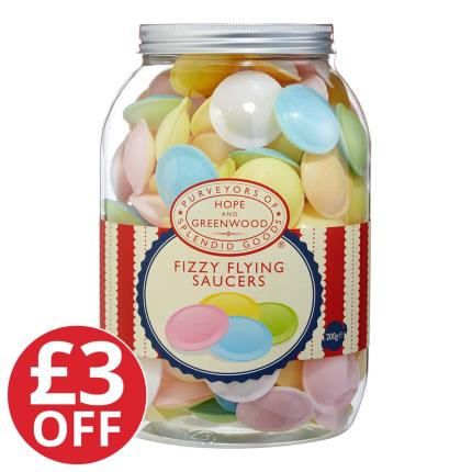 Food Gifts - Flying Saucer Jar - WAS £15 NOW £12 - Image 1