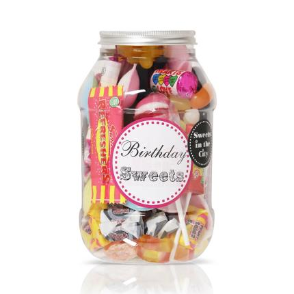 Food Gifts - Birthday Sweet Gifts Jar - Image 1