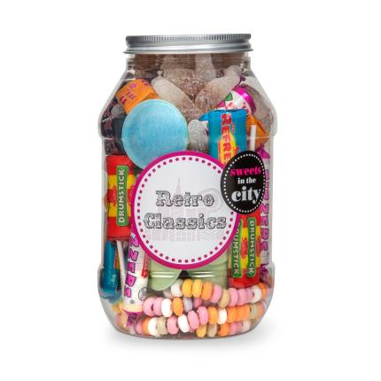 Food Gifts - Retro Sweet Gifts Jar - Image 1