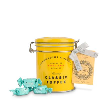 Food Gifts - Cartwright & Butler Classic Toffee Tin - Image 2