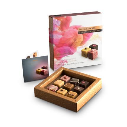 Food Gifts - Fudge Kitchen Love Fudge Collection - Image 1