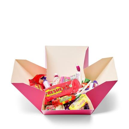 Food Gifts - Happy Birthday Sweet Box Pink - Image 2