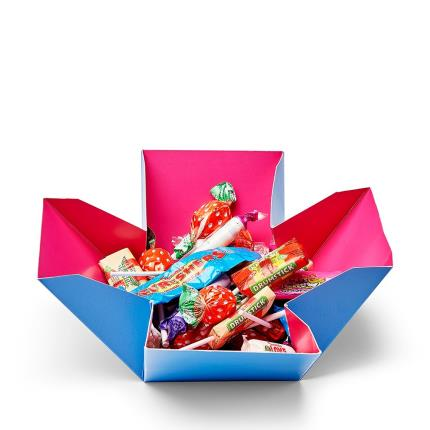 Food Gifts - Happy Birthday Sweet Box Blue - Image 2