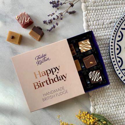 Food Gifts - Exclusive Fudge Kitchen Happy Birthday Box - Image 1