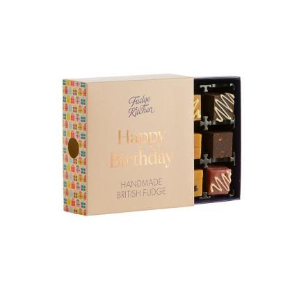 Food Gifts - Exclusive Fudge Kitchen Happy Birthday Box - Image 2