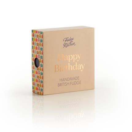 Food Gifts - Exclusive Fudge Kitchen Happy Birthday Box - Image 3
