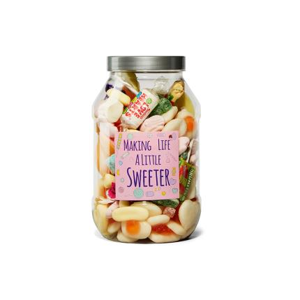 Food Gifts - Sweeten Your Day Sweet Gifts Jar 520g - Image 1