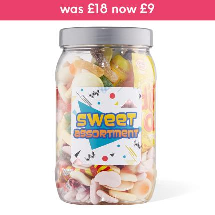 Food Gifts - Sweet Gifts Selection Jar Large 980g - Image 1