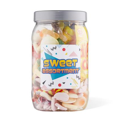 Food Gifts - Sweet Gifts Selection Jar Large 980g - Image 2