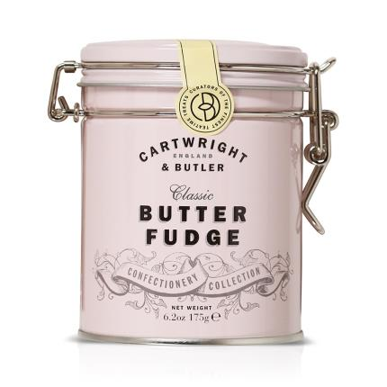 Food Gifts - Cartwright & Butler Classic Fudge Food Tin - Image 1