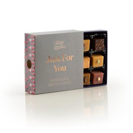 Food Gifts - Fudge Kitchen With Love Miniature Treats Gift Box - Image 3