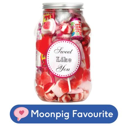 Food Gifts - Sweets in the City Sweet Like You Candy Jar - Image 1