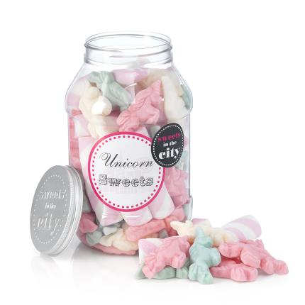 Food Gifts - Sweets in the City Unicorn Sweet Jar - Image 2