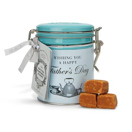 Food Gifts - Happy Father's Day Salted Caramel Fudge - Image 1