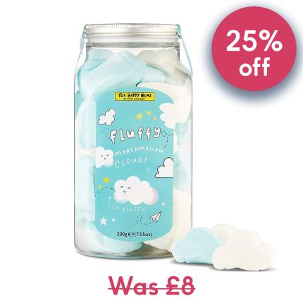 Food Gifts - Happy News Marshmallow Clouds Jar - Image 1