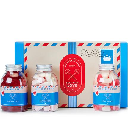 Food Gifts - Sent With Love Sweets Gift Box - Image 2