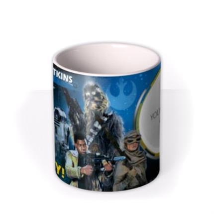 Mugs - Star Wars Hero Photo Upload Mug - Image 3